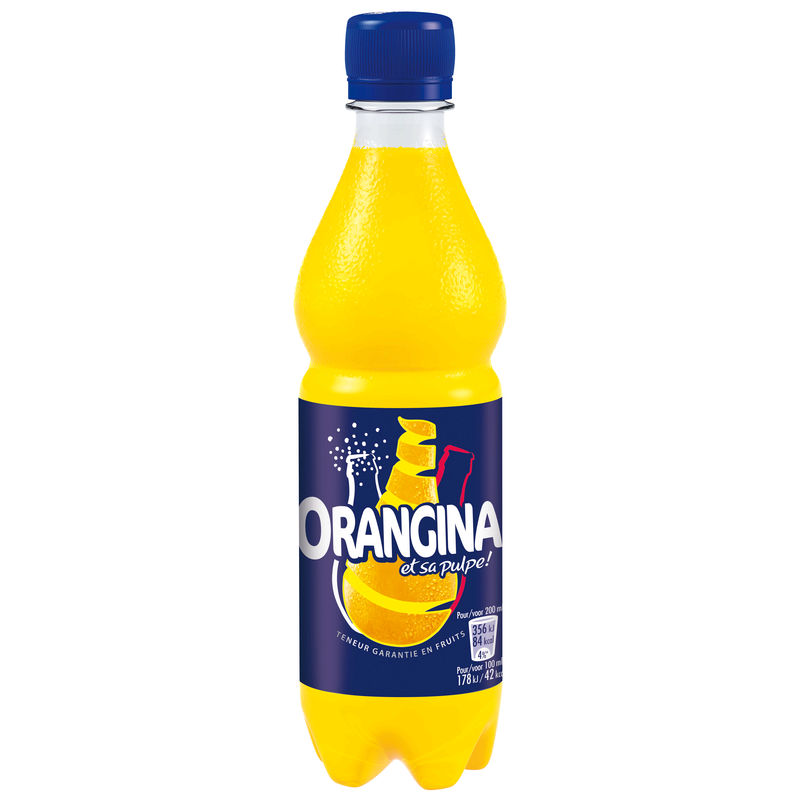 Orangina Standard Pet 50cl Fra