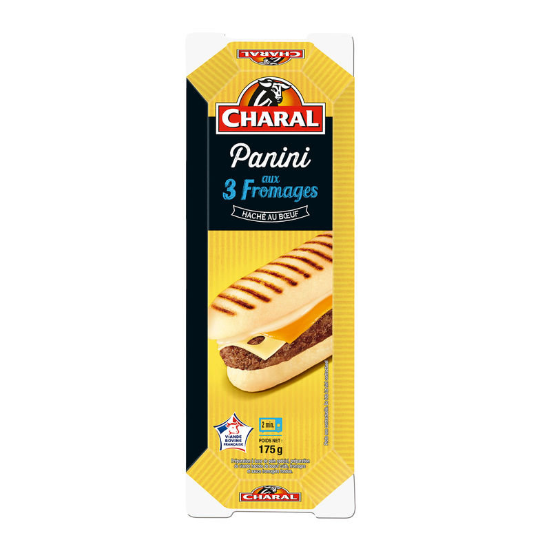 Panini 3 Fromages Charal 200 G