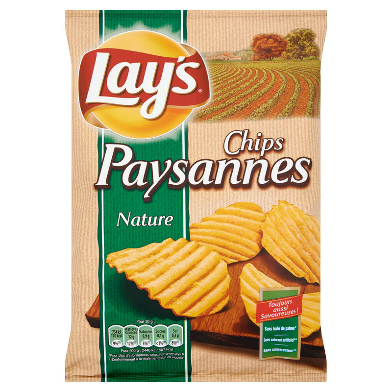 Lay's Paysannes Nature 150g