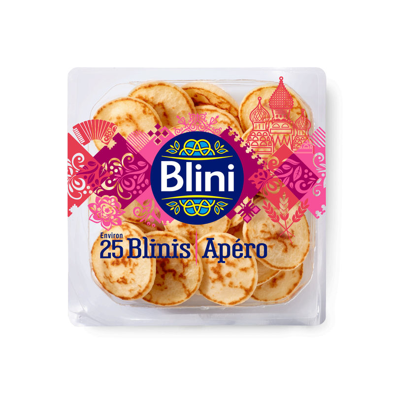 Mini Blinis Cocktail 125g