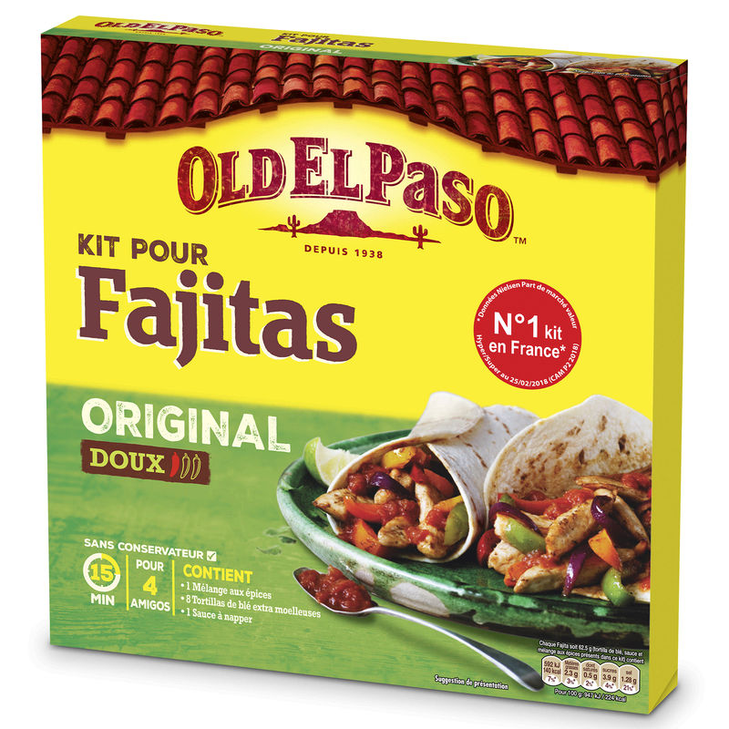 Kit Fajitas Original Oldelpaso