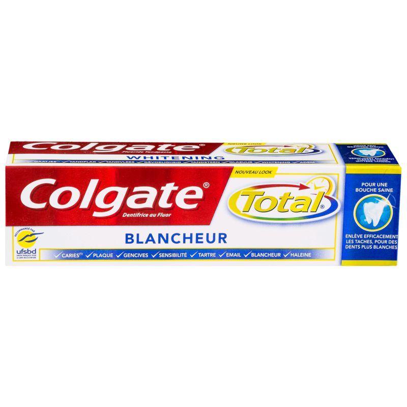 Colg.dent.total Blch 75ml