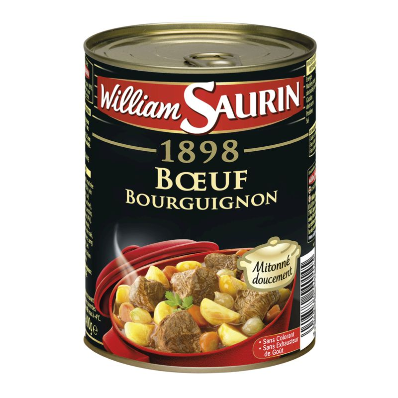 Boeuf Bourg/pte Pdt 400g Ws