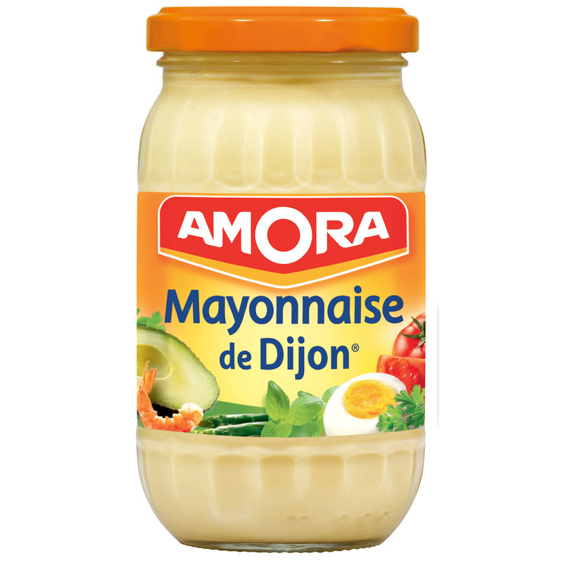 Mayonnaise Amora 235 G Bocal