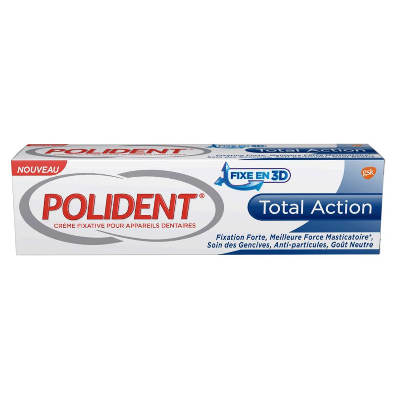Polident Crm Fixative Total Ac