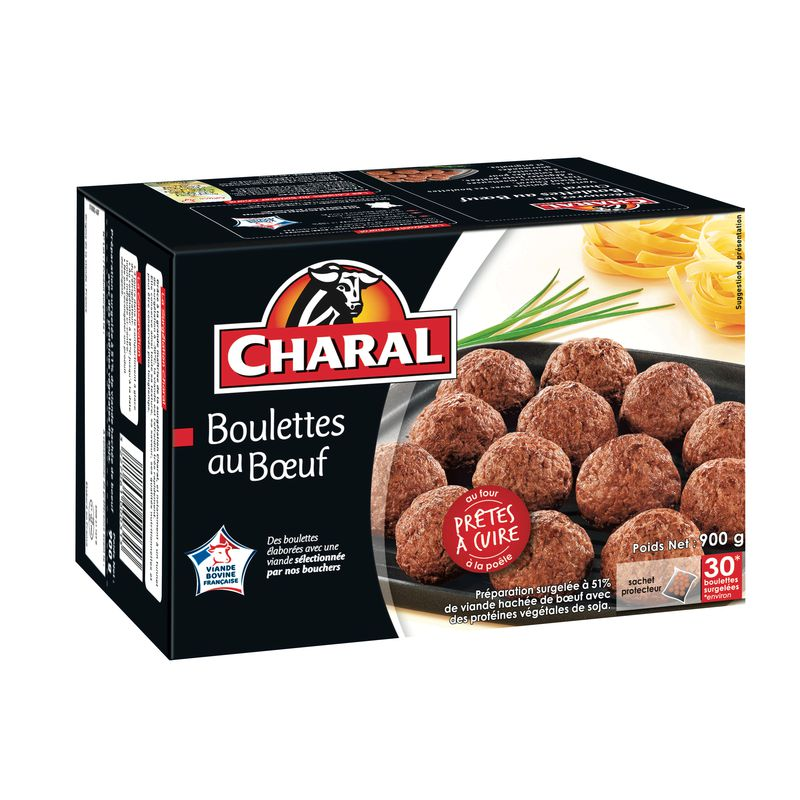 Charal Boulettes Boeuf 30x30g