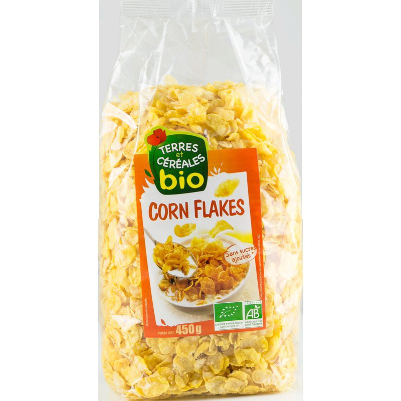 Corn Flakes Bio Nature 450g