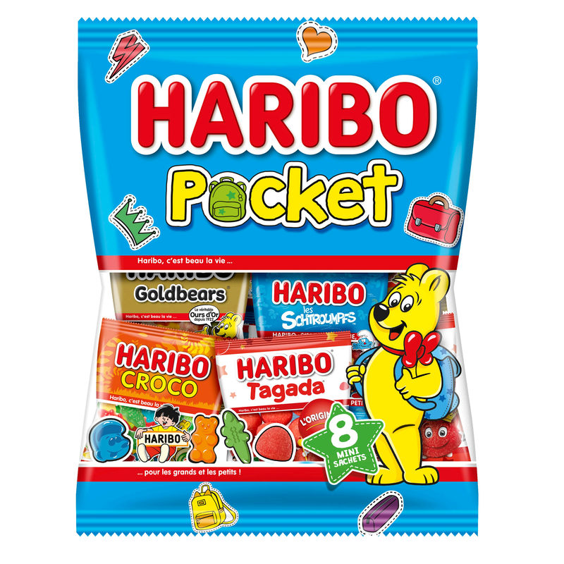 Haribo Pocket Sachet 380g