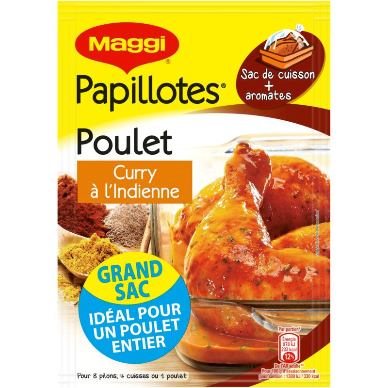 Maggi Papillote Plt Curry 30g