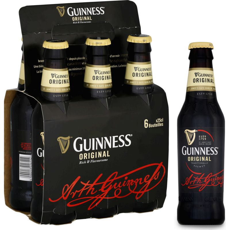 Guinness Original 6x25cl 5d