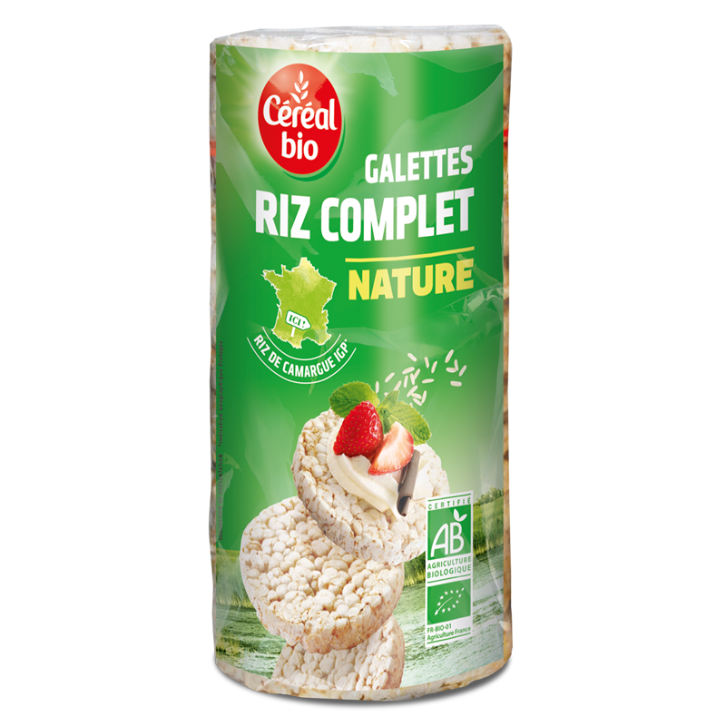 Galettes Riz Complet Bio 130g