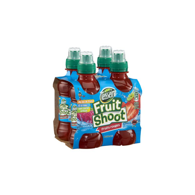 Fruit Shoot Fr.rouges 4x20cl