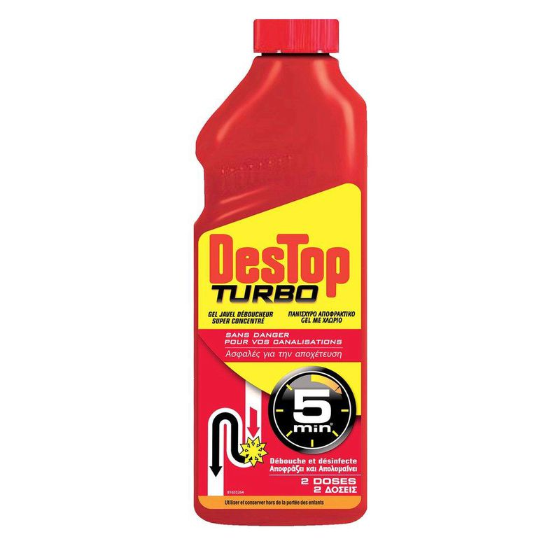 Destop Turbo Gel Jav.debou 1l