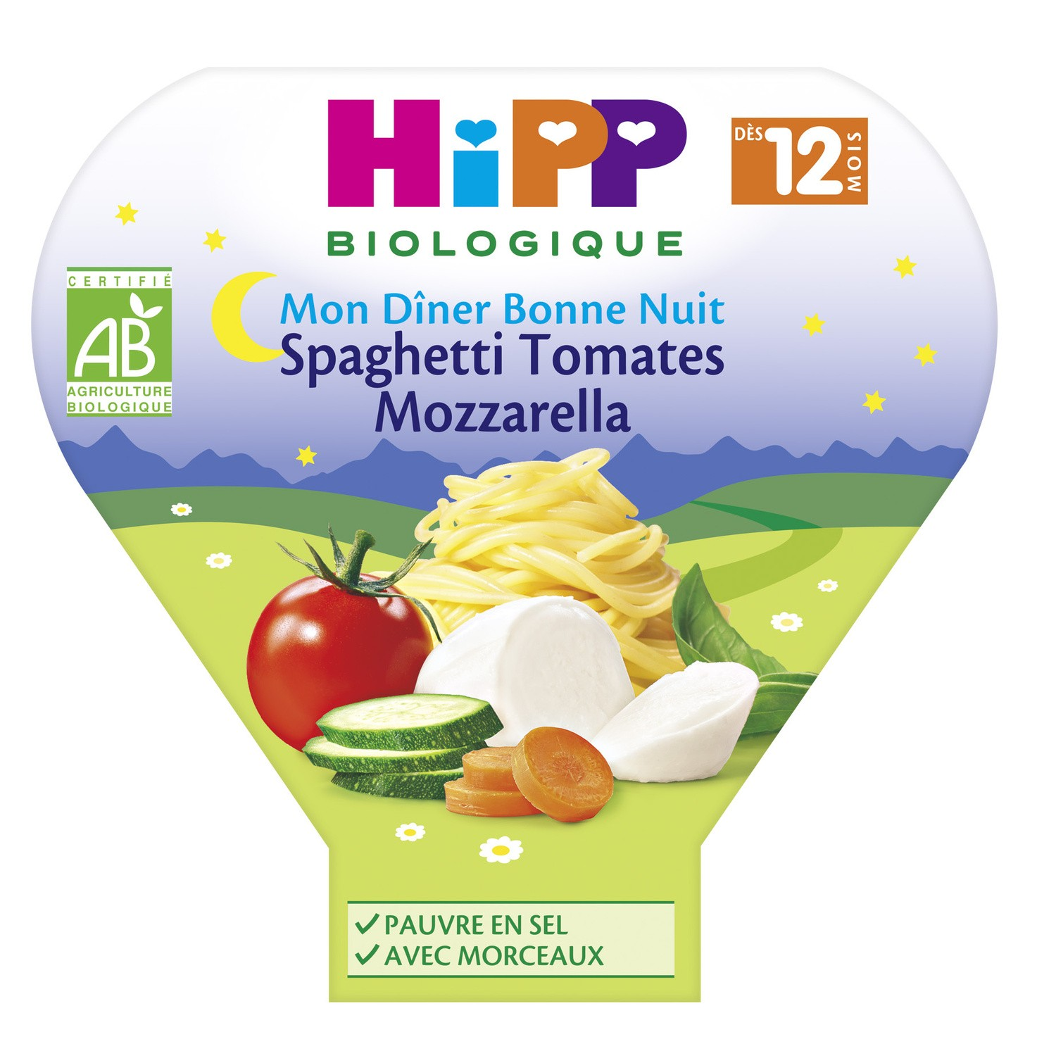 Spagh.tom.mozz Hippbio 230g