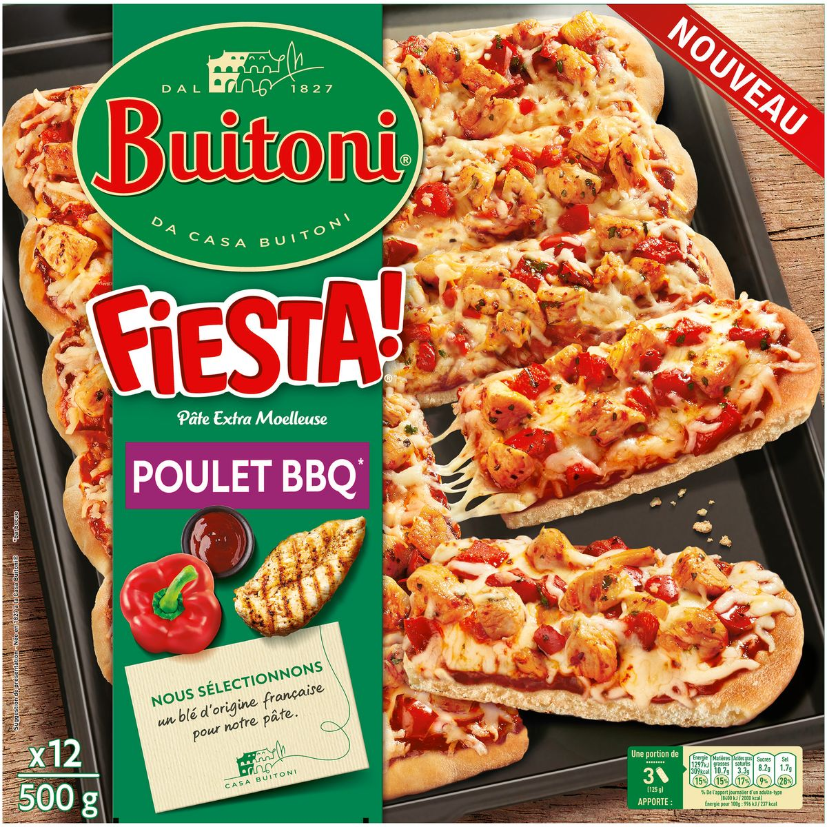 Fiesta Pizza Poulet Barbecue 5