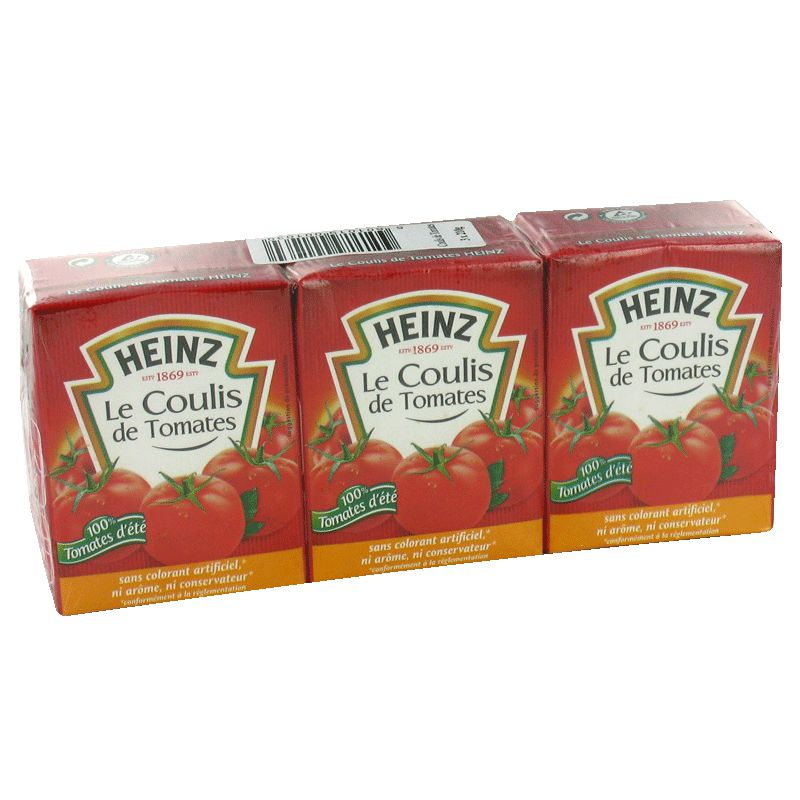 Coulis Tomate Heinz 3x210g