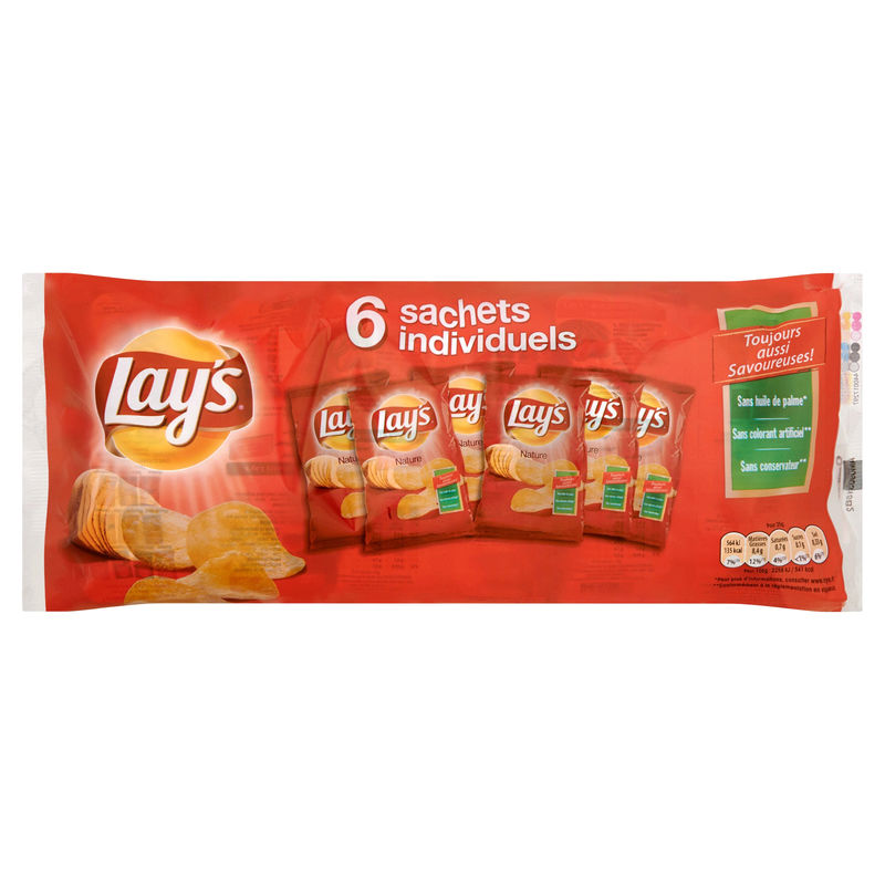 Chips Lay's Fin.salees Multi.6