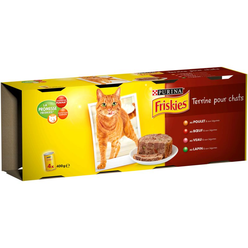 Frisk.chat Terrine 400gx4 Mult
