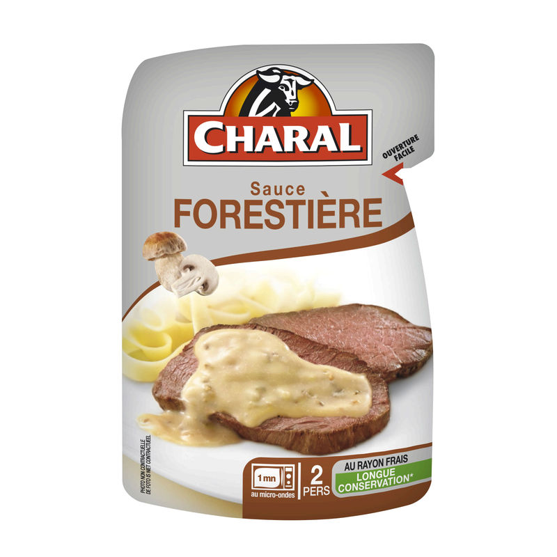Sauce Forestiere Charal 120g