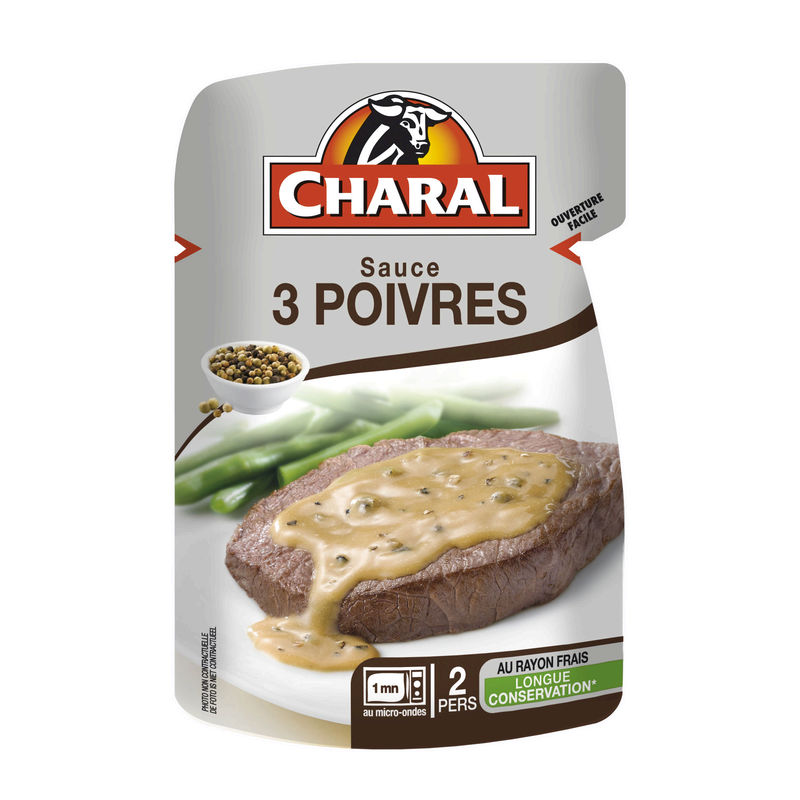 Sauce 3 Poivres Charal 120g