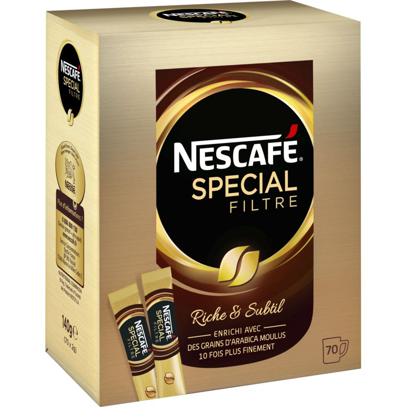 Nescafe Filtre 70 Sticks 140g
