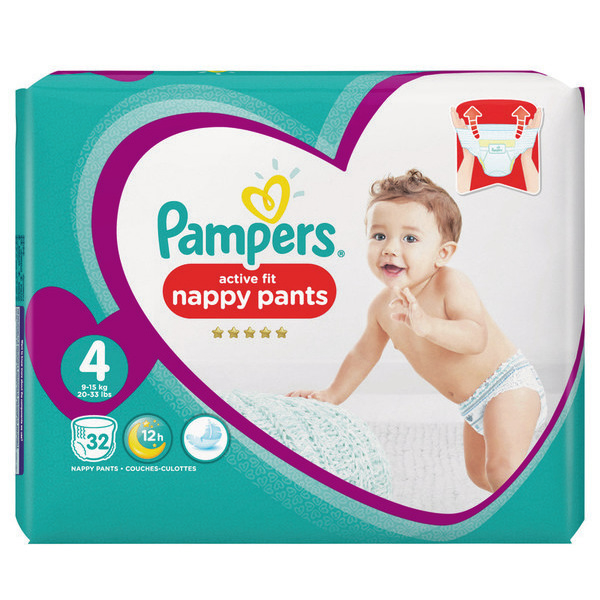 Pampers Activ Fit Pants T4x32