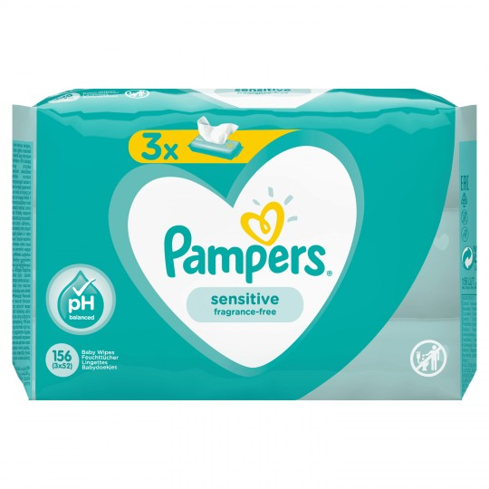Pampers Linget.sensitive X3