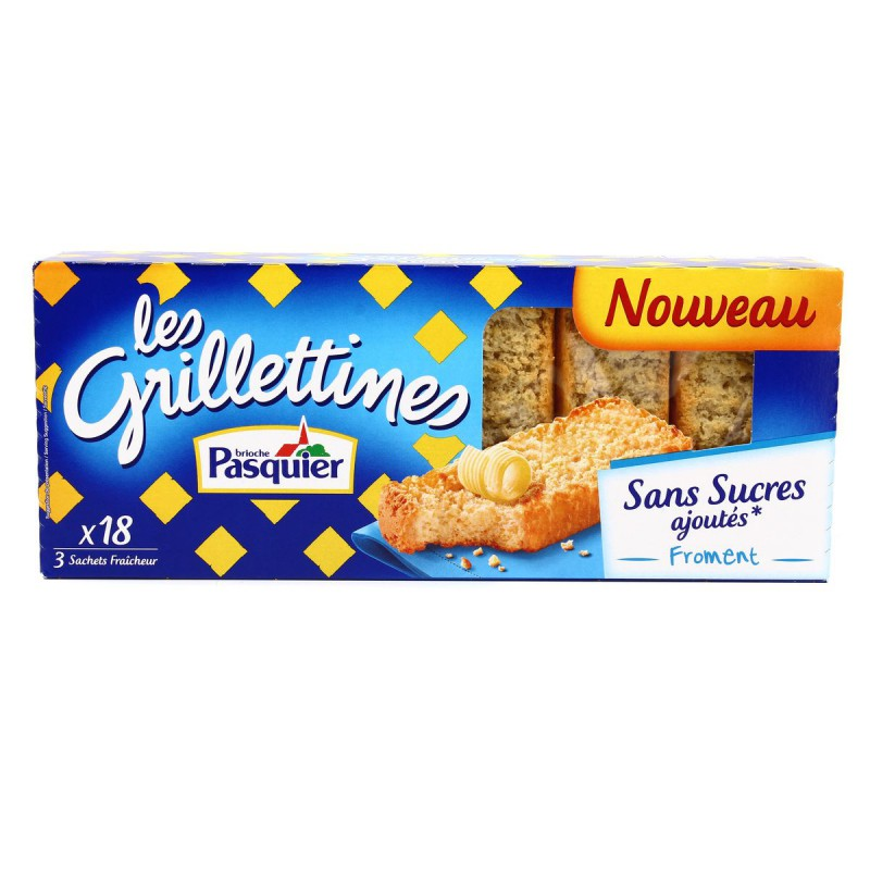 Grillettin.froment Ssa 255g