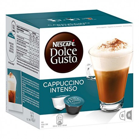 Dolce Gusx16 Capuc.int 160g