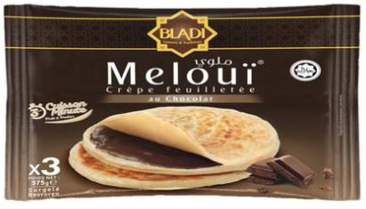 Meloui Crepe Feuilletee Choc 3