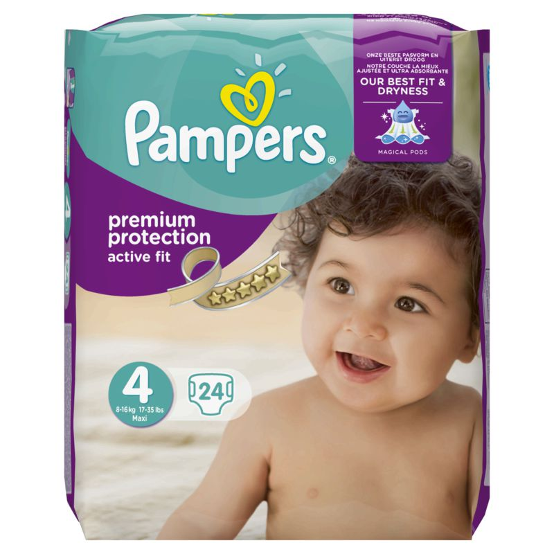 Pampers Active Fit T4x24
