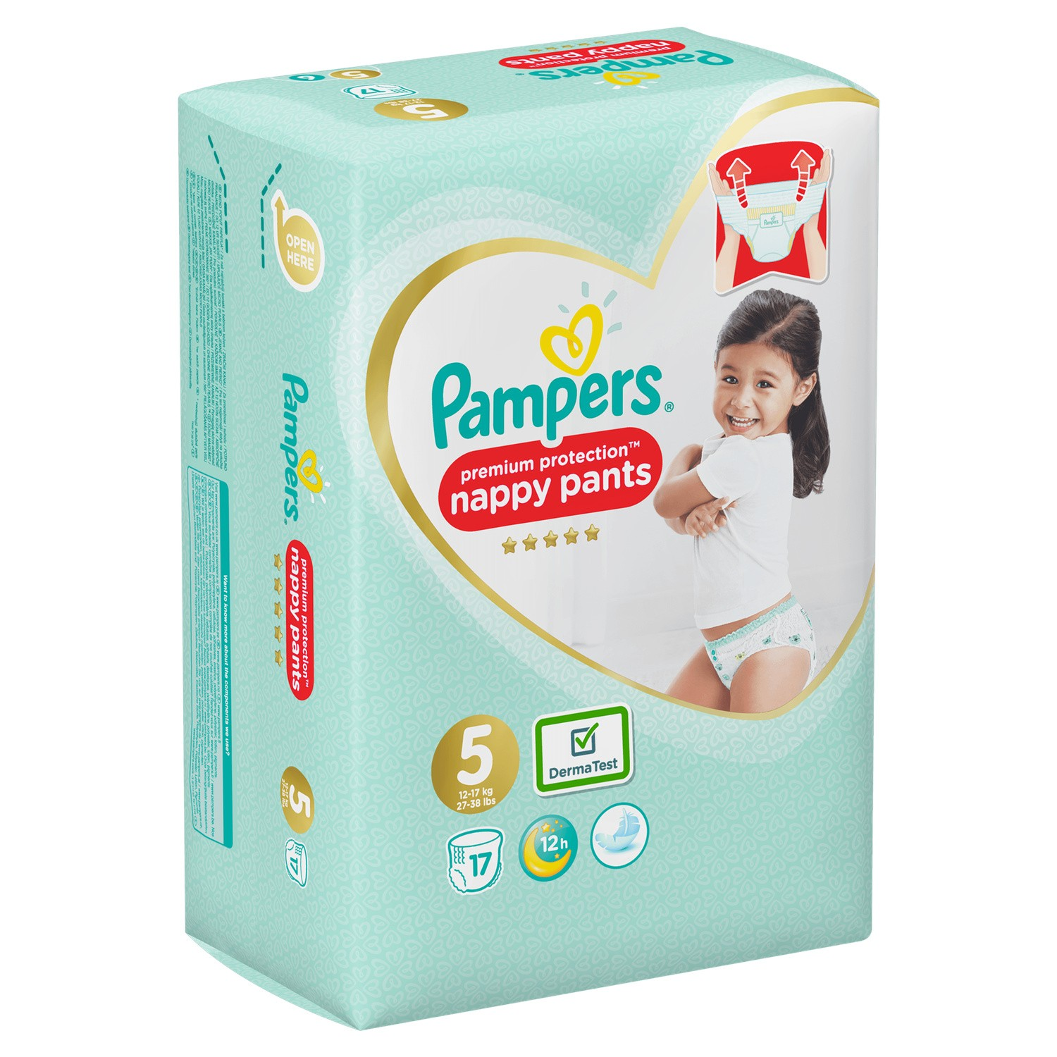 Pampers Acti.fit Pants T5x17