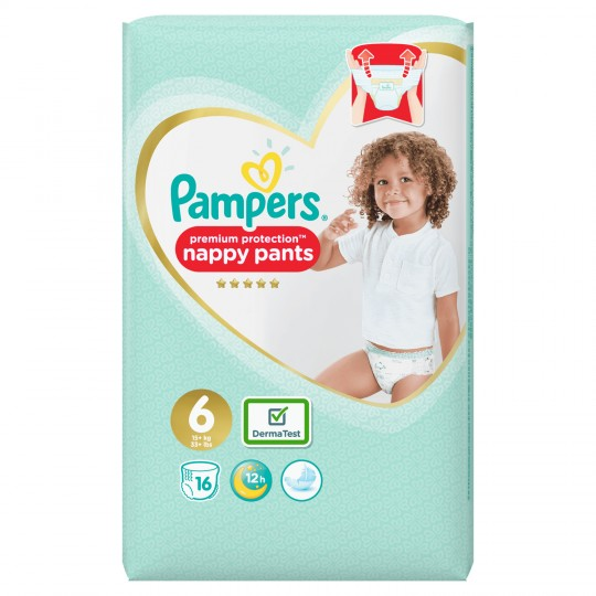 Pampers Active Fit Pants T6x16