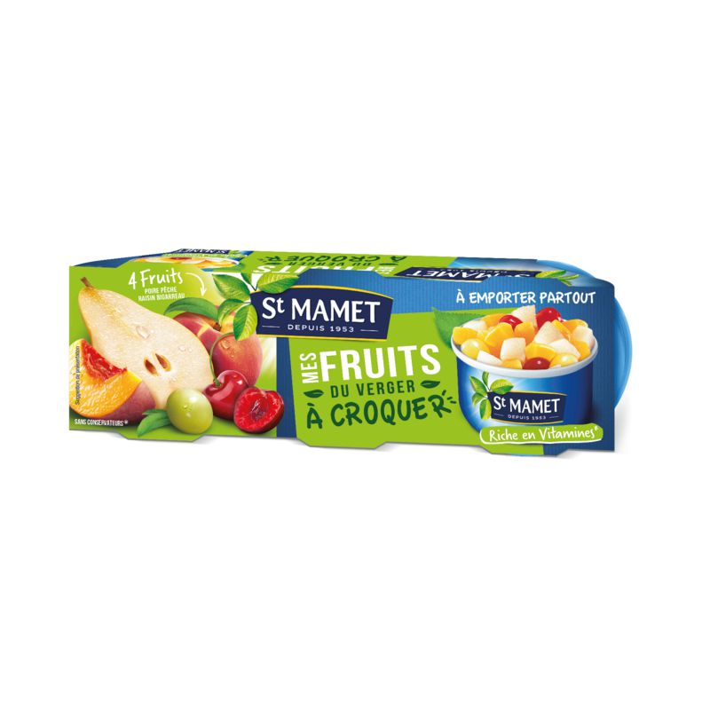 Mes Fruit Croq Verger 3x135g