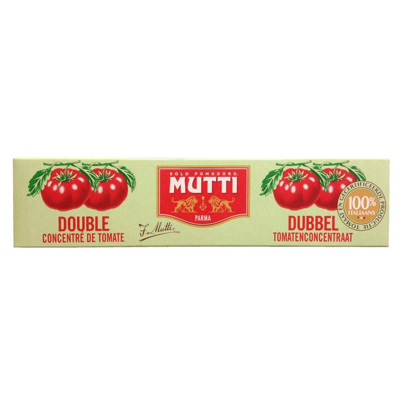 Double Concentre Tomate Mutti