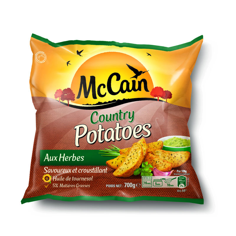 Country Potatoes Mccain700g