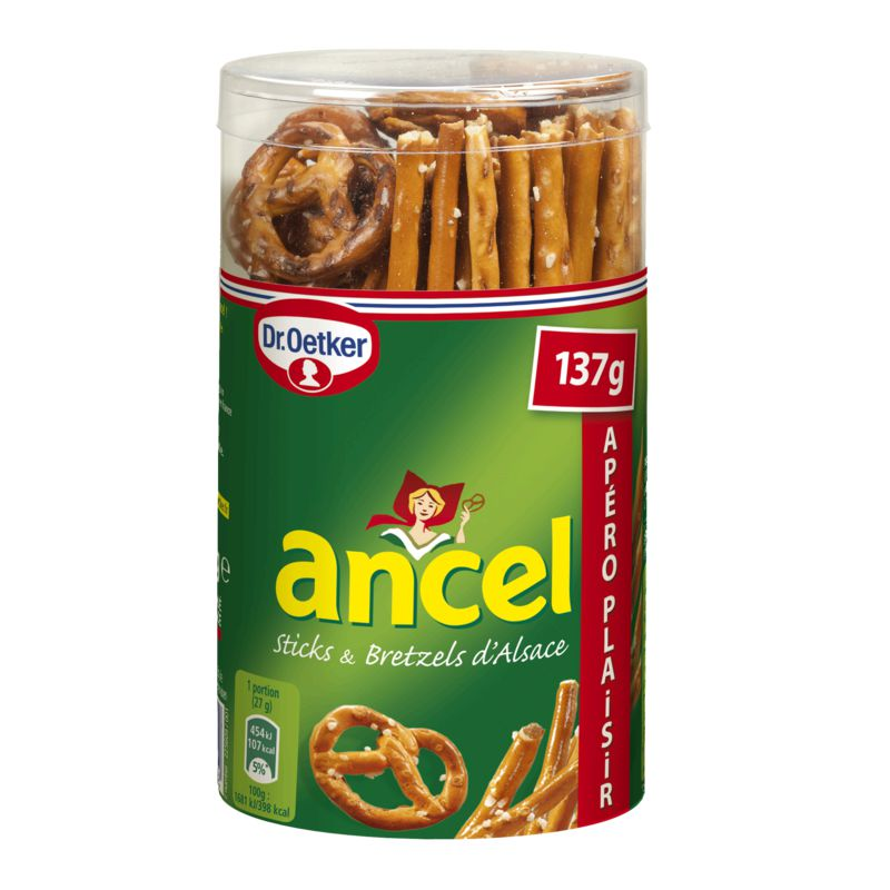 Ancel Mini Stick&bretzel 137g