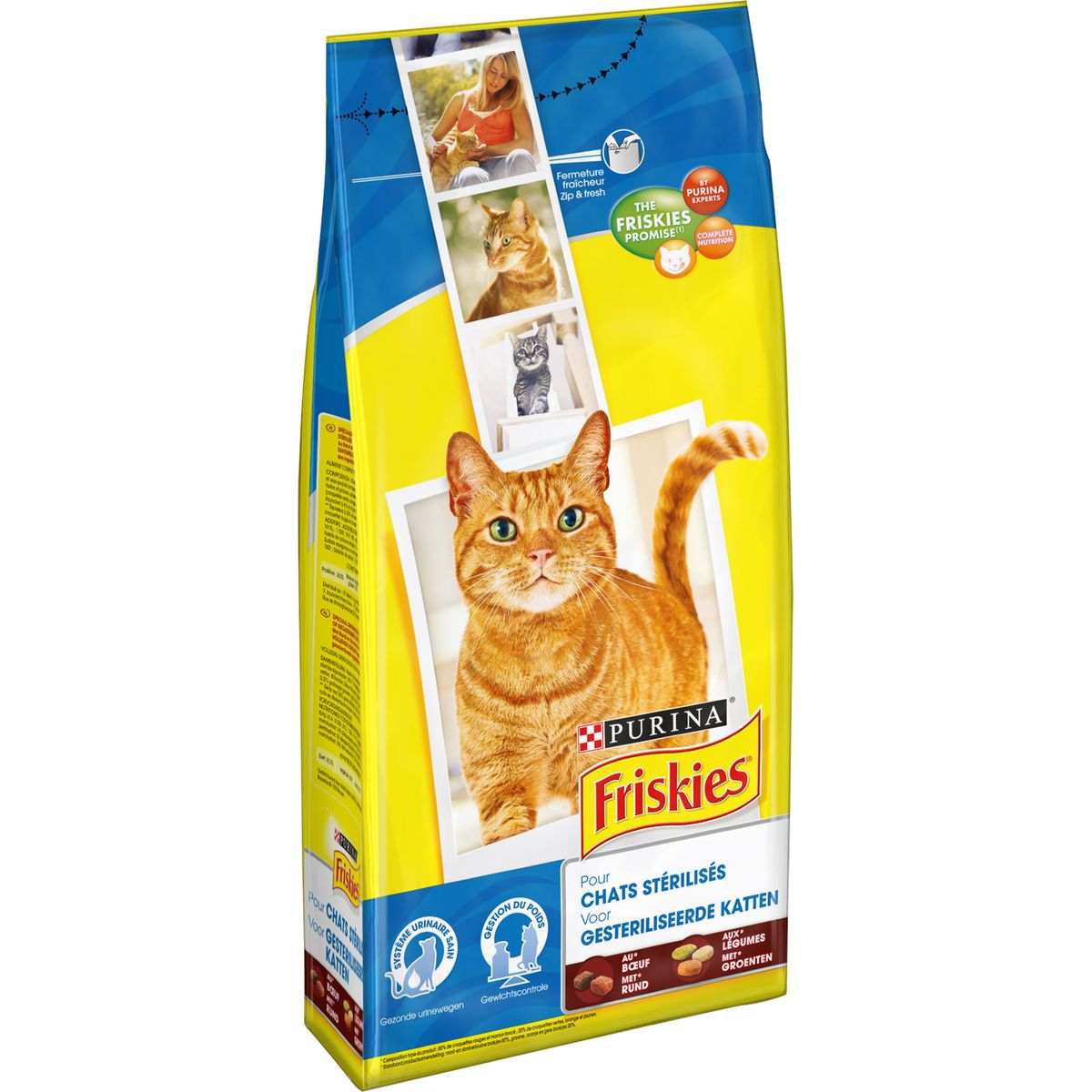 Friskies Chat Sterilise Boeuf
