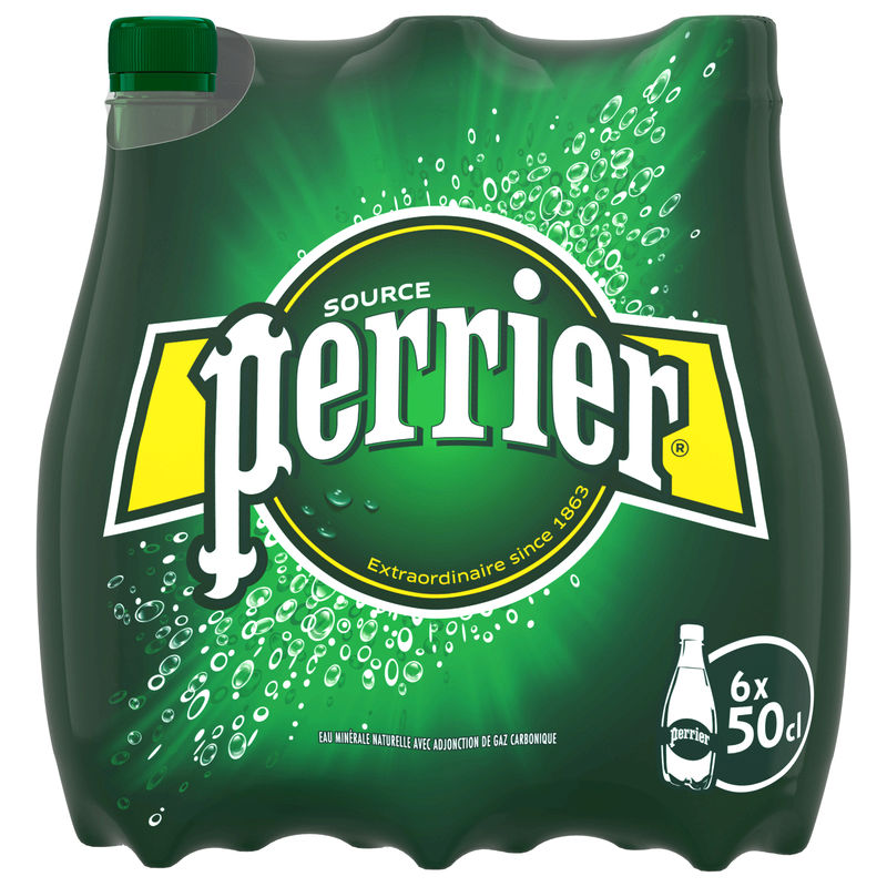 Perrier Naturel Pet 6x50cl