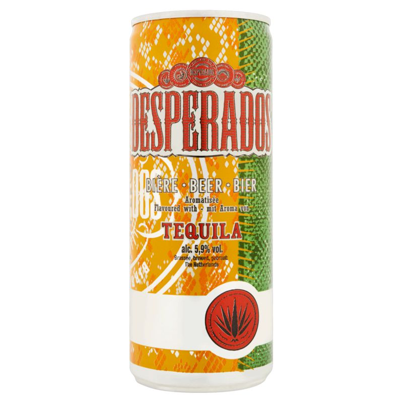 Desperados Slim Can 5.9d 25cl
