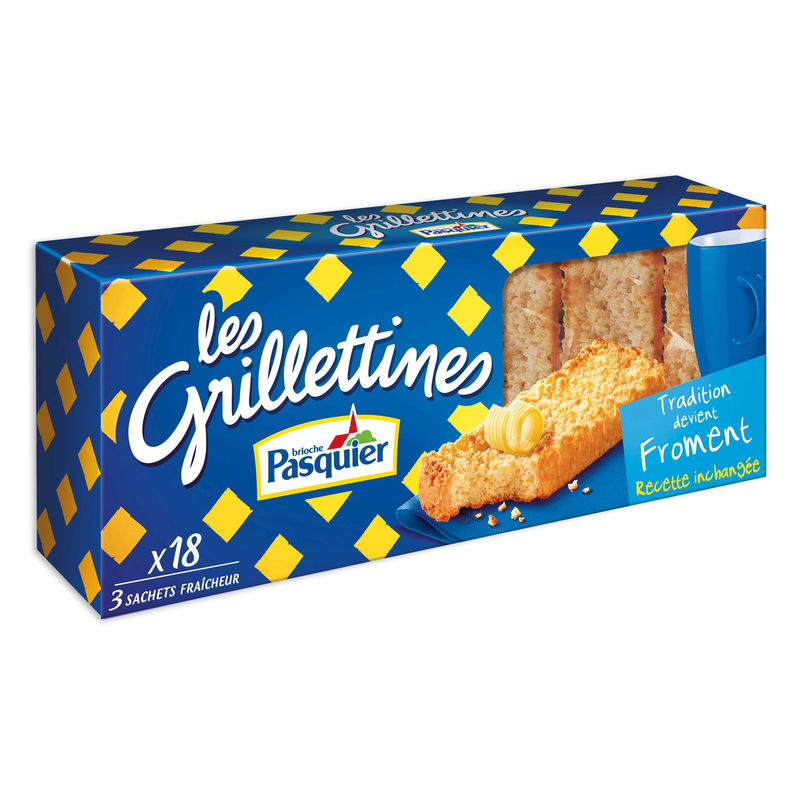 Grilletine Froment 242g