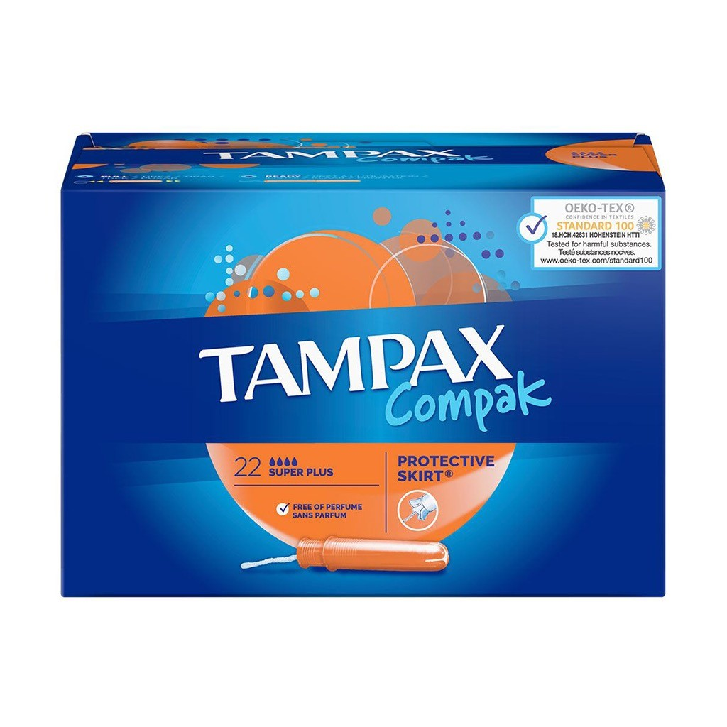 Tampax Compak Super Plus X22