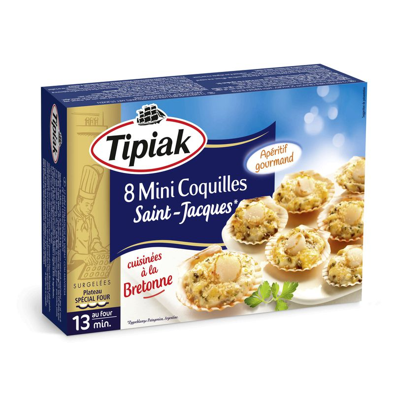 Mini Coquilles St Jacques 100g