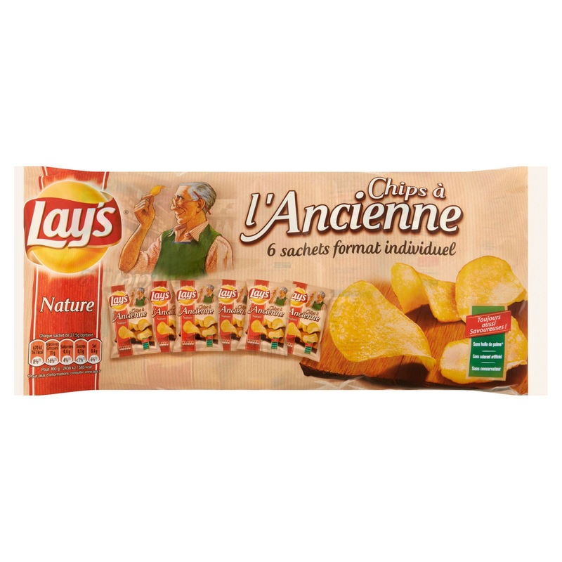 Chip.lay's Ancien.sel 6x27,5g