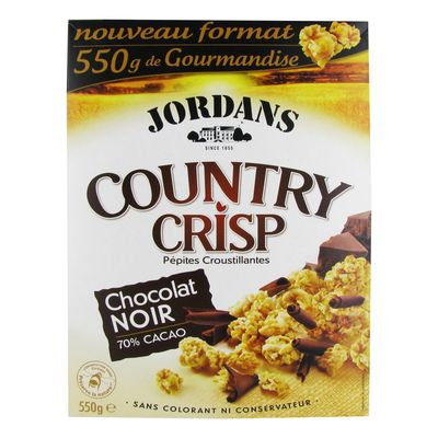 Country Crisp Choc.nr 550g