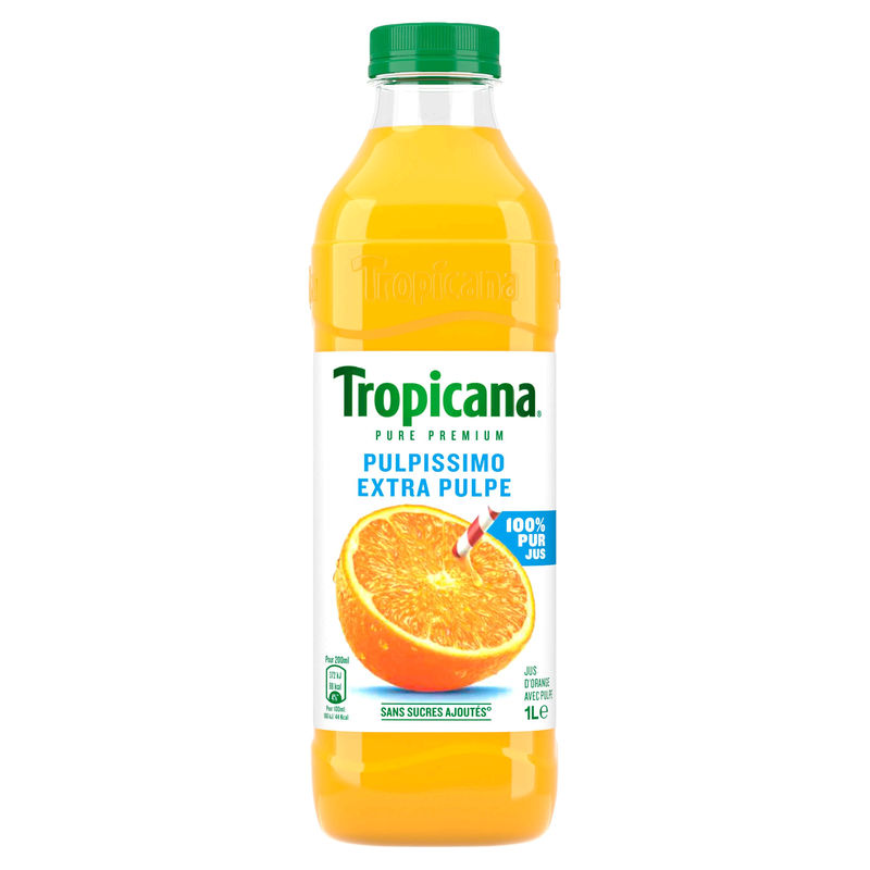 Tropicana Orange Ext.pulpee Pe