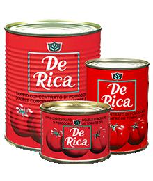 Double concentré de tomates DE RICA(24 x 210 g)