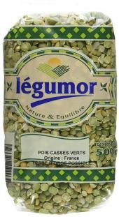 Pois Cassés Verts 500g Legumor