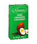 Pure creamed coconut KHANUM(40 x 200 g)