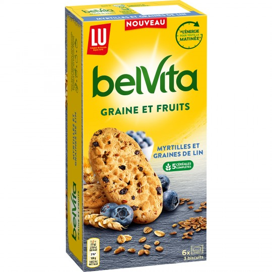 Belvita Myrtilles Graine 270g